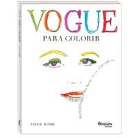 Vogue para colorir
